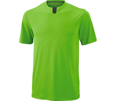 Wilson - UW Henley men's tennis top (green)