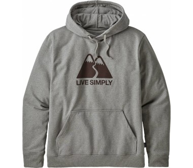 Patagonia - Live Simply Winding Uprisal men's hoodie (white)
