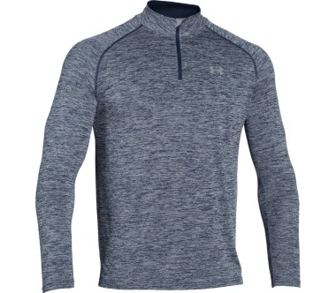 Under Armour Tech 1/4 Zip Uomo argento