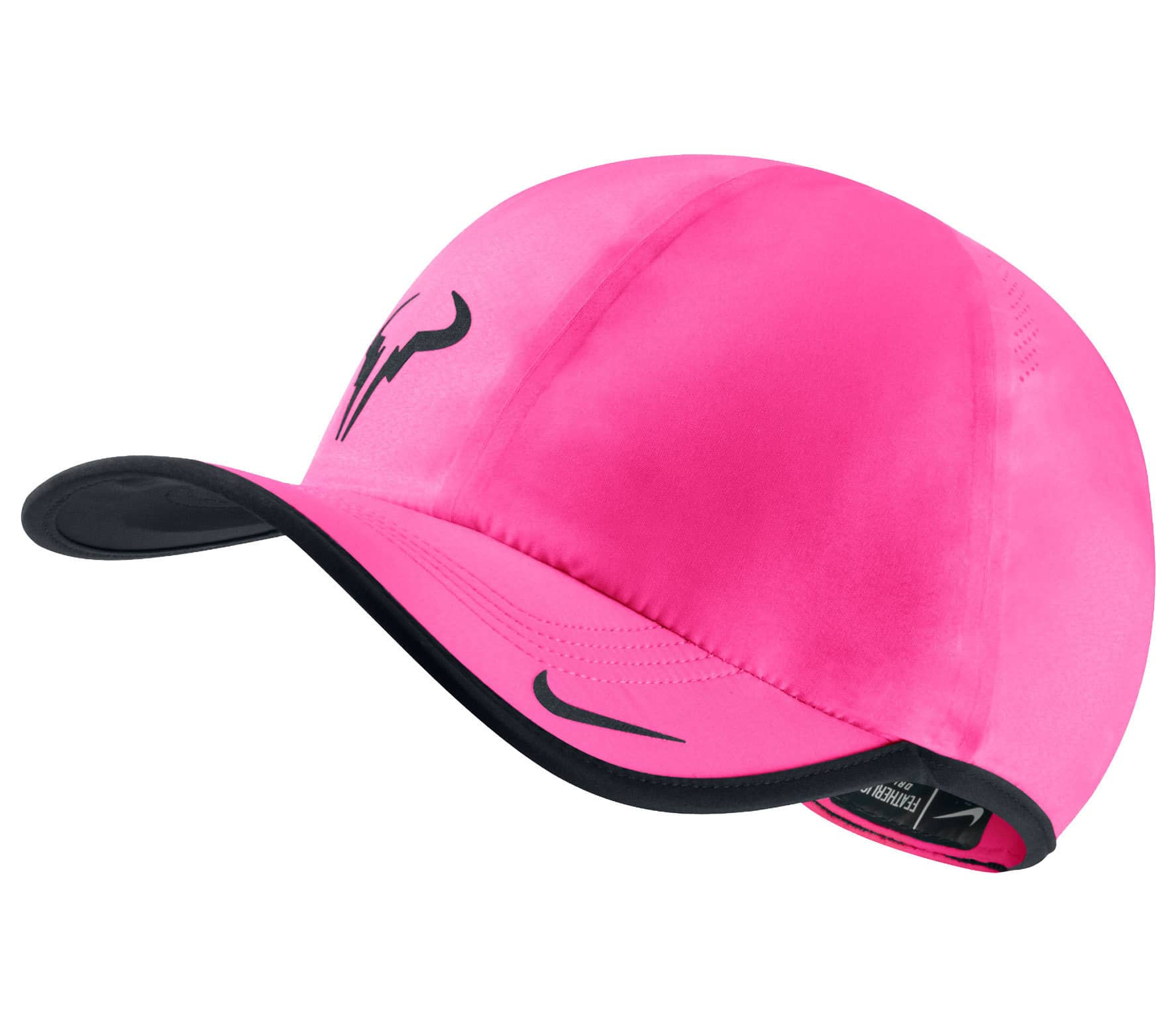 8efd180cf1fed Nike - Rafael Nadal Bull Featherlight Tennis cap (pink) - buy it at ...