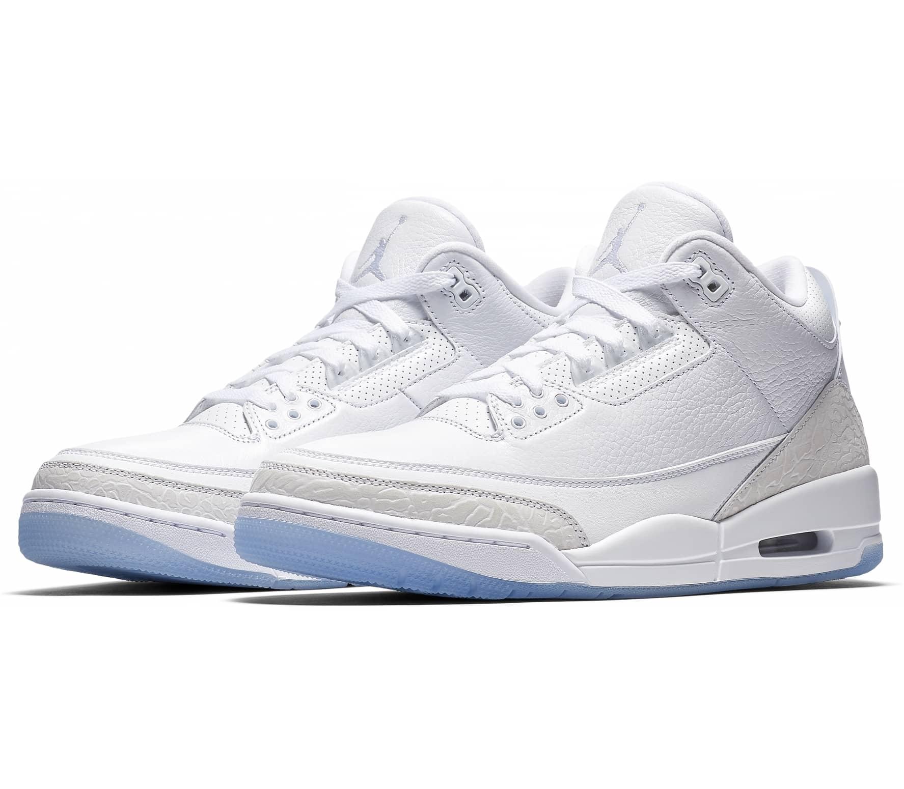 Jordan - 3 Retro Herren Sneaker (weiß)