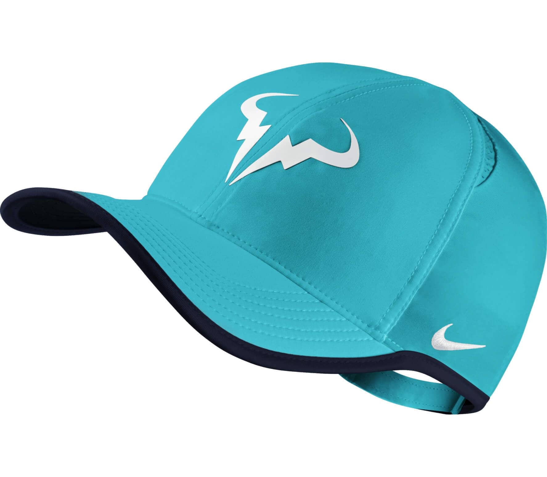 542a57de59fcb Nike - Rafa Nadal Featherlight tennis cap (light blue white) - buy ...