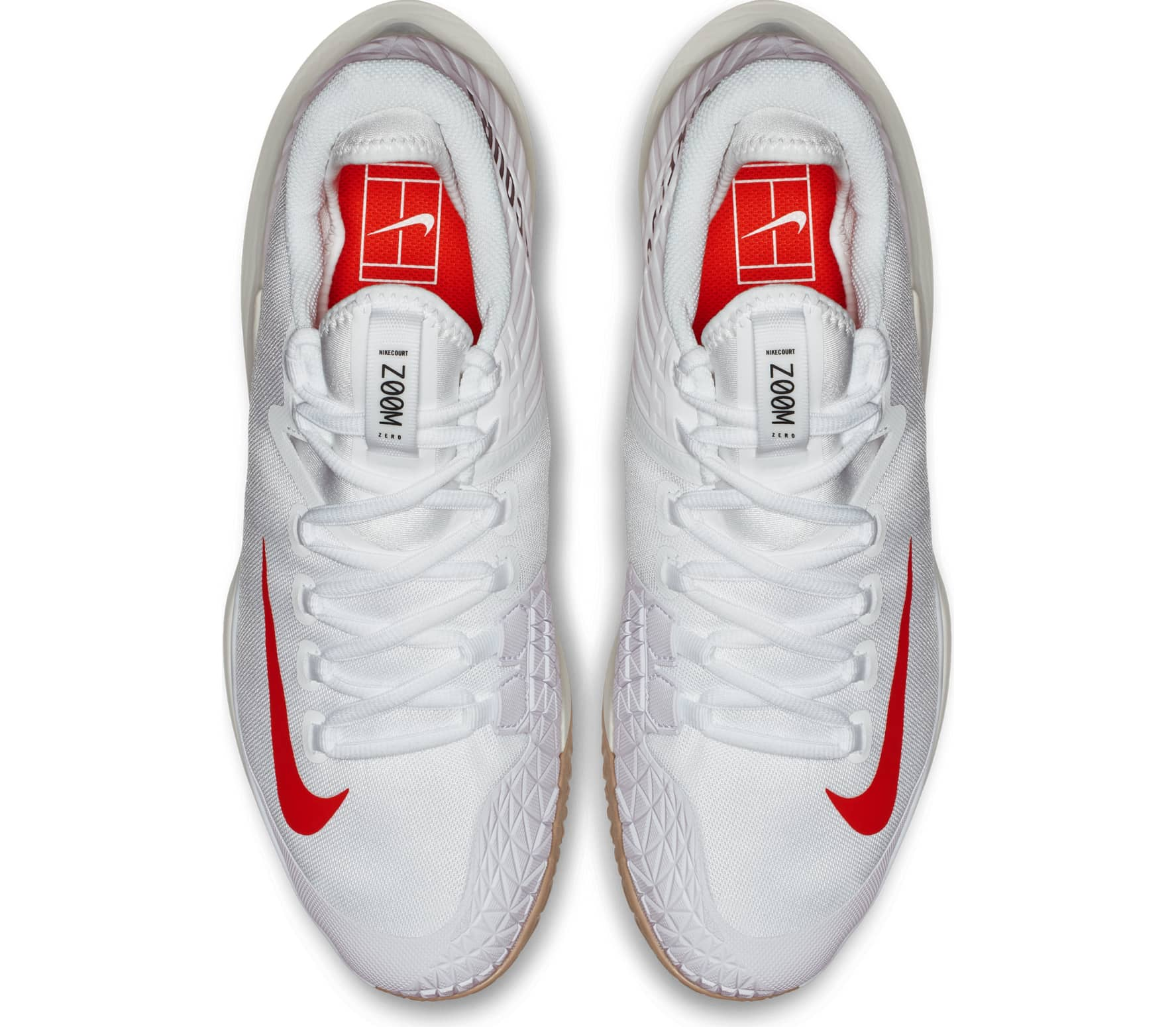 best loved 655a2 e066a Nike - Court Air Zoom Zero Barn tennis Shoe (vit)