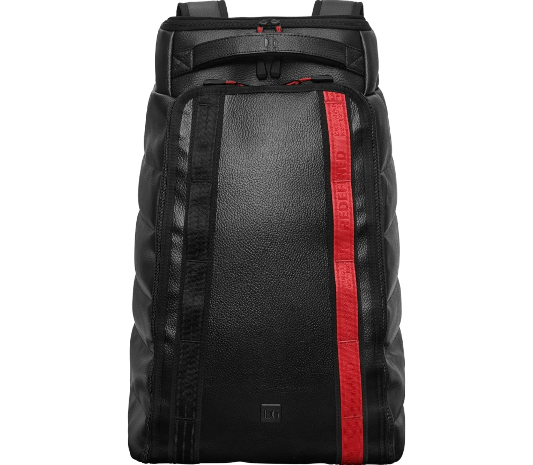 Douchebags - Red Webbing Hugger 30L Daypack (black/röd)