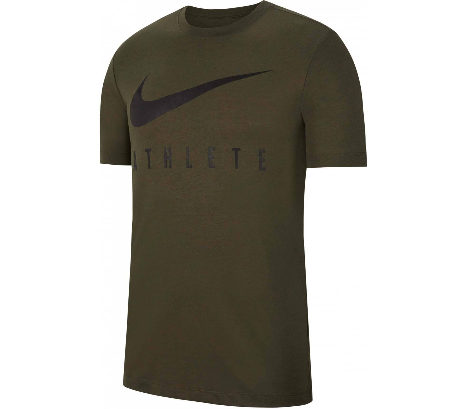 Nike Dri-FIT Heren Trainingtop groen