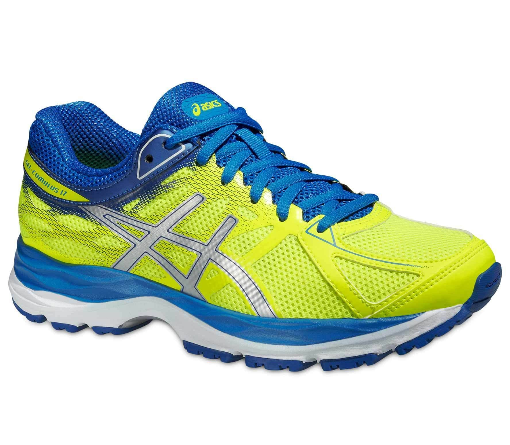 ASICS Gel Cumulus 17 GS Junior chaussures de course (jaunebleu)