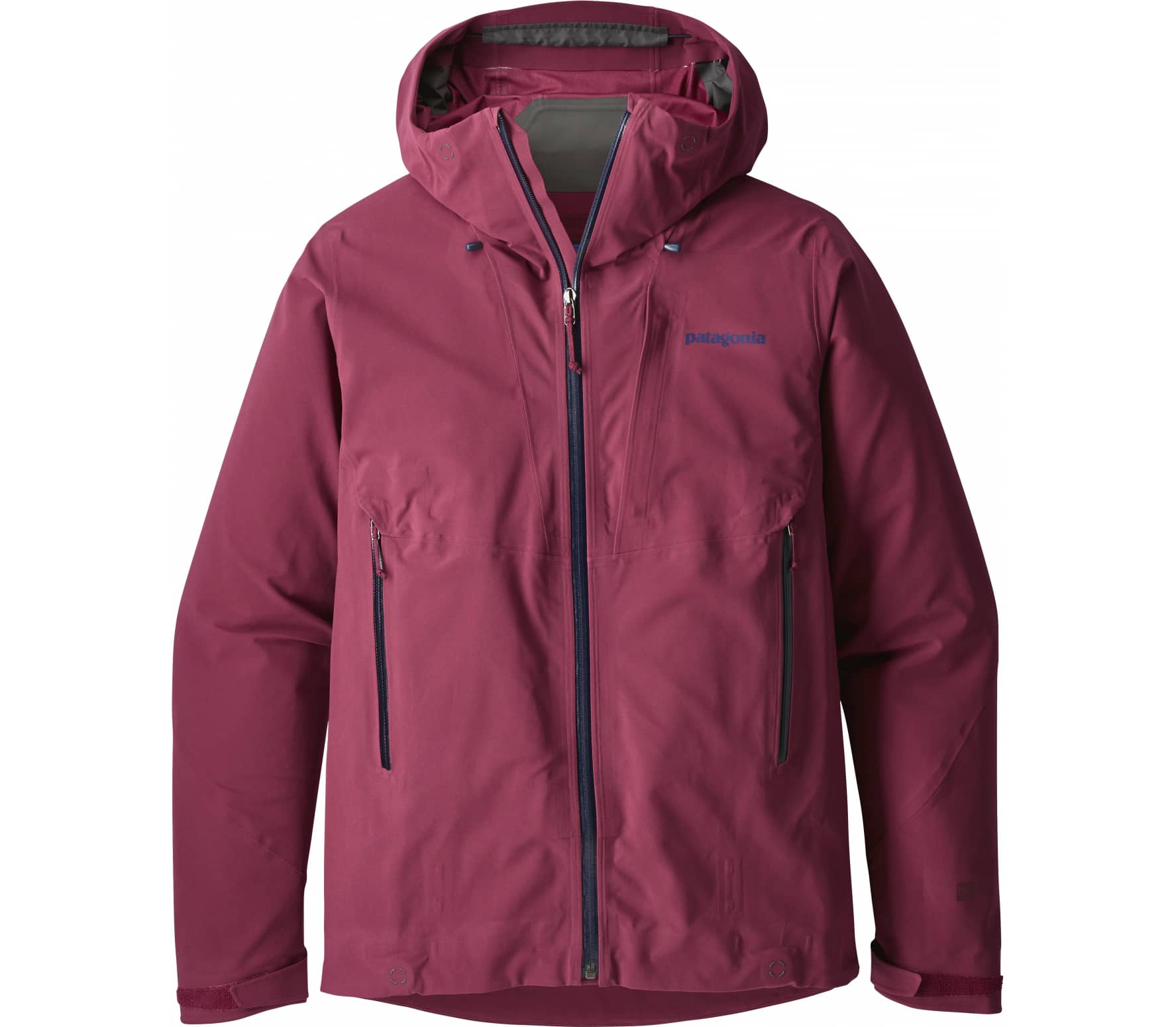 Patagonia - Galvanized women's outdoor jacket (red)