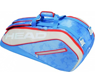 Head - Tour Team 9R Supercombi tennis bag (light blue/beige)
