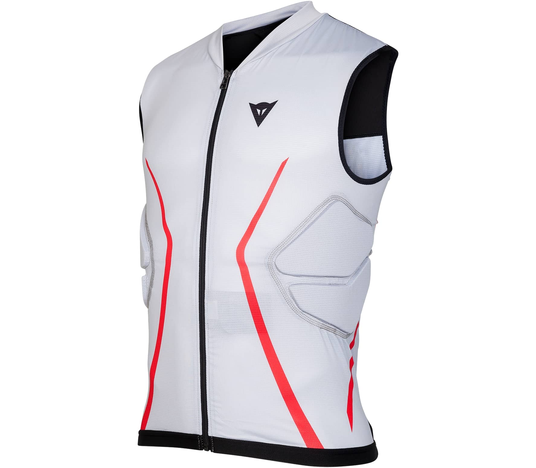 428972ca9 Dainese Flexagon Waistcoat Protector Men Gilet white - buy it at the ...