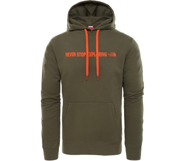 The North Face - Open Gate Herren Hoodie (grün)