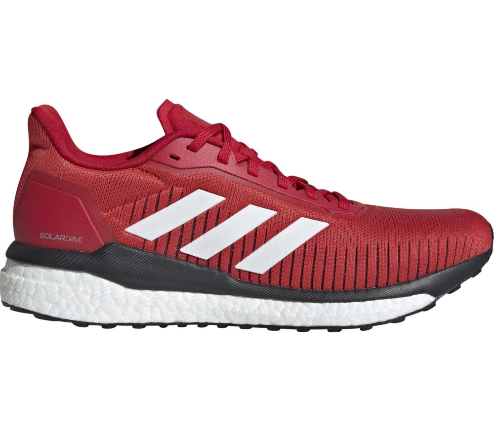 adidas Solar Drive 19 Men Running Shoes  red