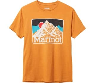 Marmot Mountain Peaks Heren T-Shirt