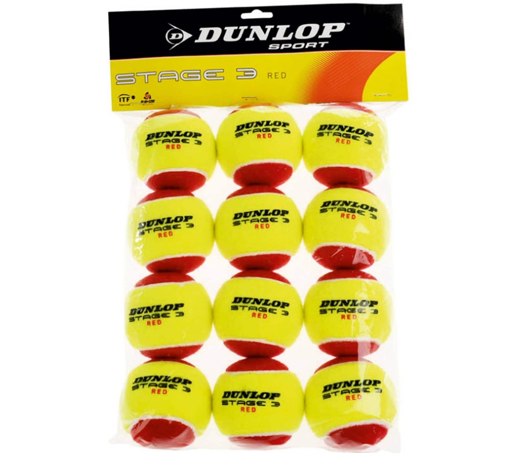 Dunlop - tennis ball Stage 3 12 St
