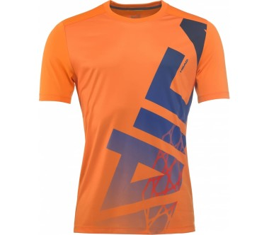 Head - Vision Radical Herren Tennisshirt (orange)