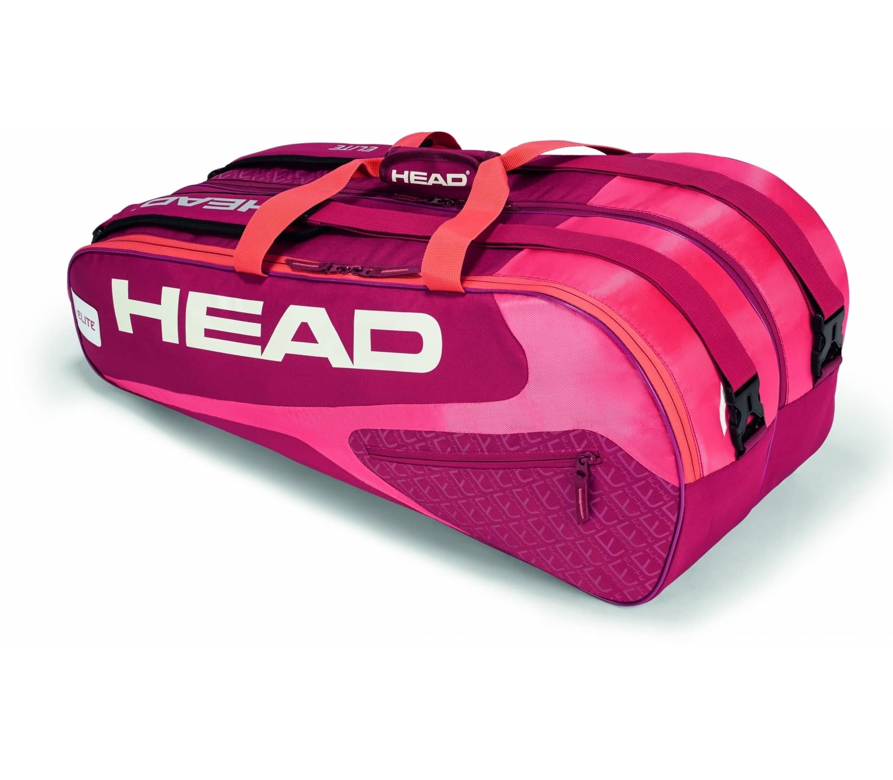 Head - Elite 9R Supercombi tennis bag (red/pink)