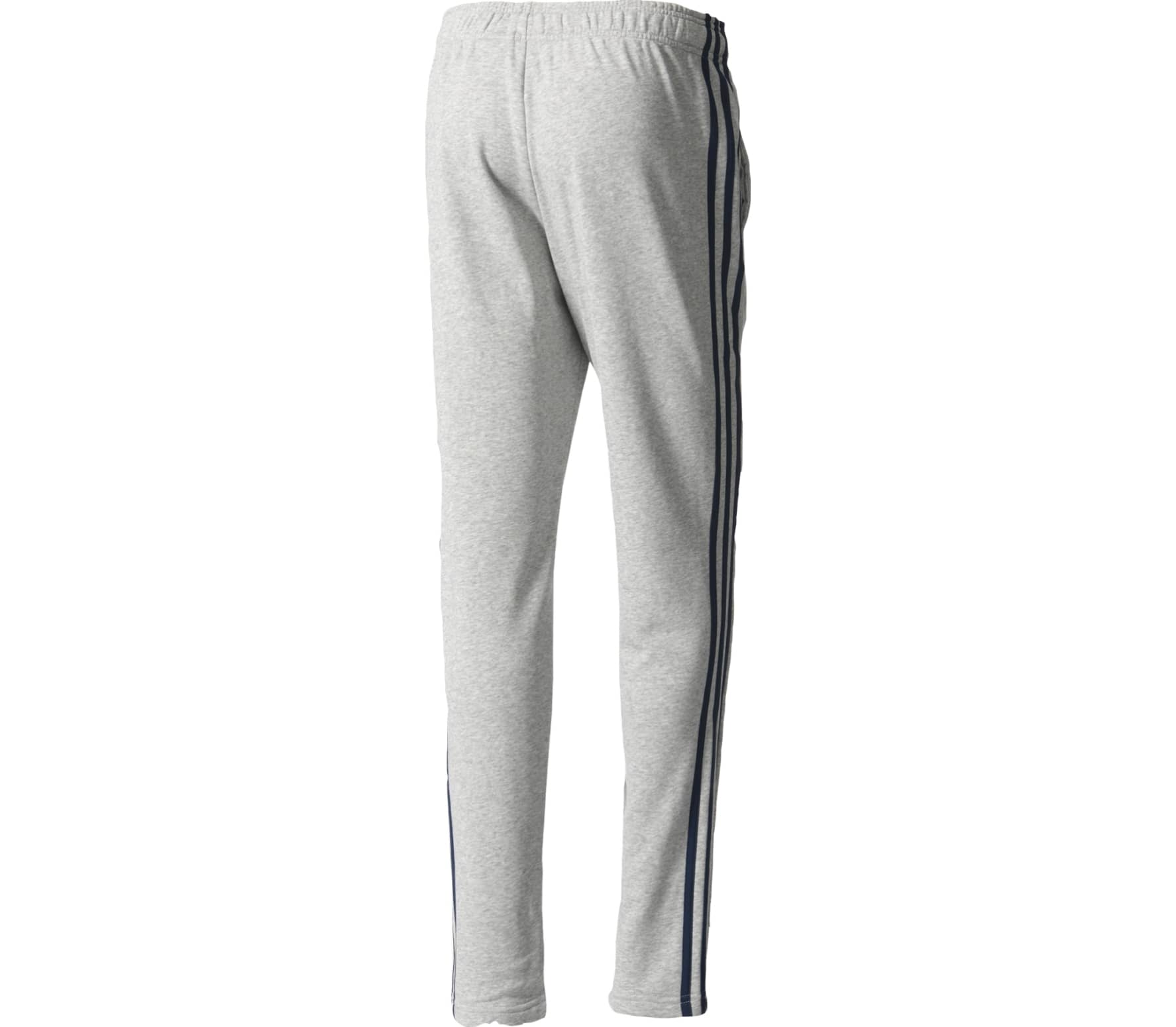 adidas Essentials 3 Stripes Tapered Herren silber