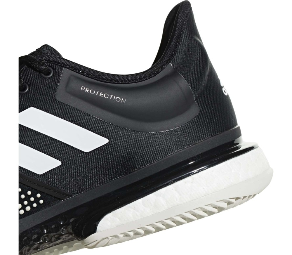 186d118056a7 adidas Performance - Sole Court Boost Clay Mænd Tennis Shoe (sort hvid)