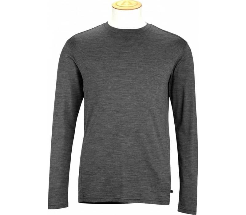180GSM Single Jersey Merino Heren Long-sleeve