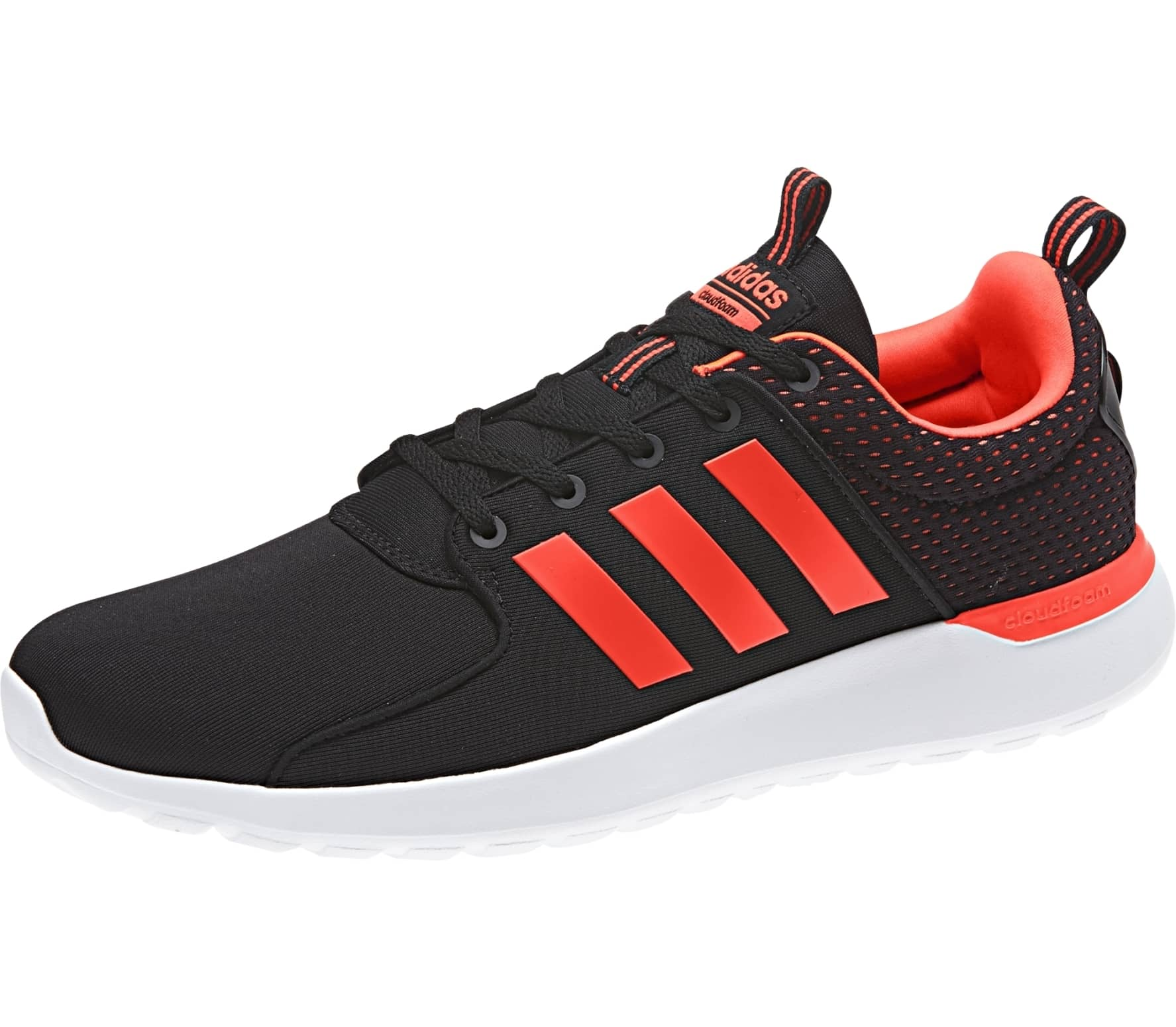 big sale a192f ff2c8 Adidas - CF Lite Racer mens running shoes (blackred)