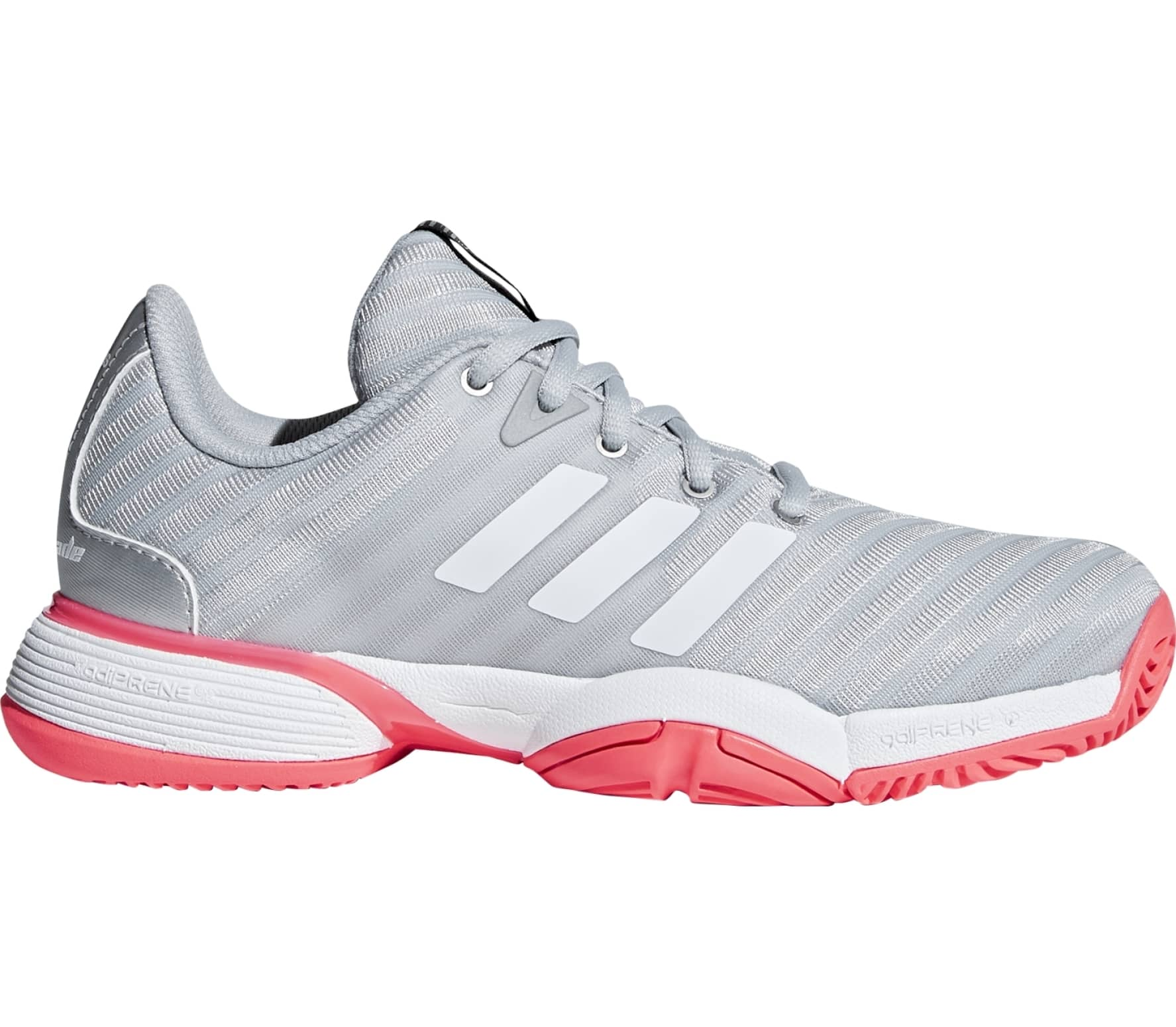 adidas performance Barricade 2018 xJ Children tennis shoes (silver)
