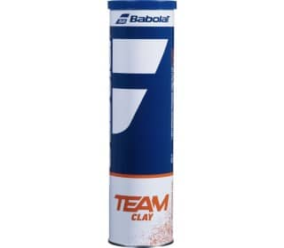 Team Clay Unisex Tennis Balls