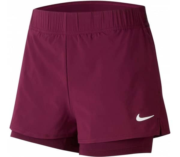 NIKE Court Flex Dames Tennisshorts - 1