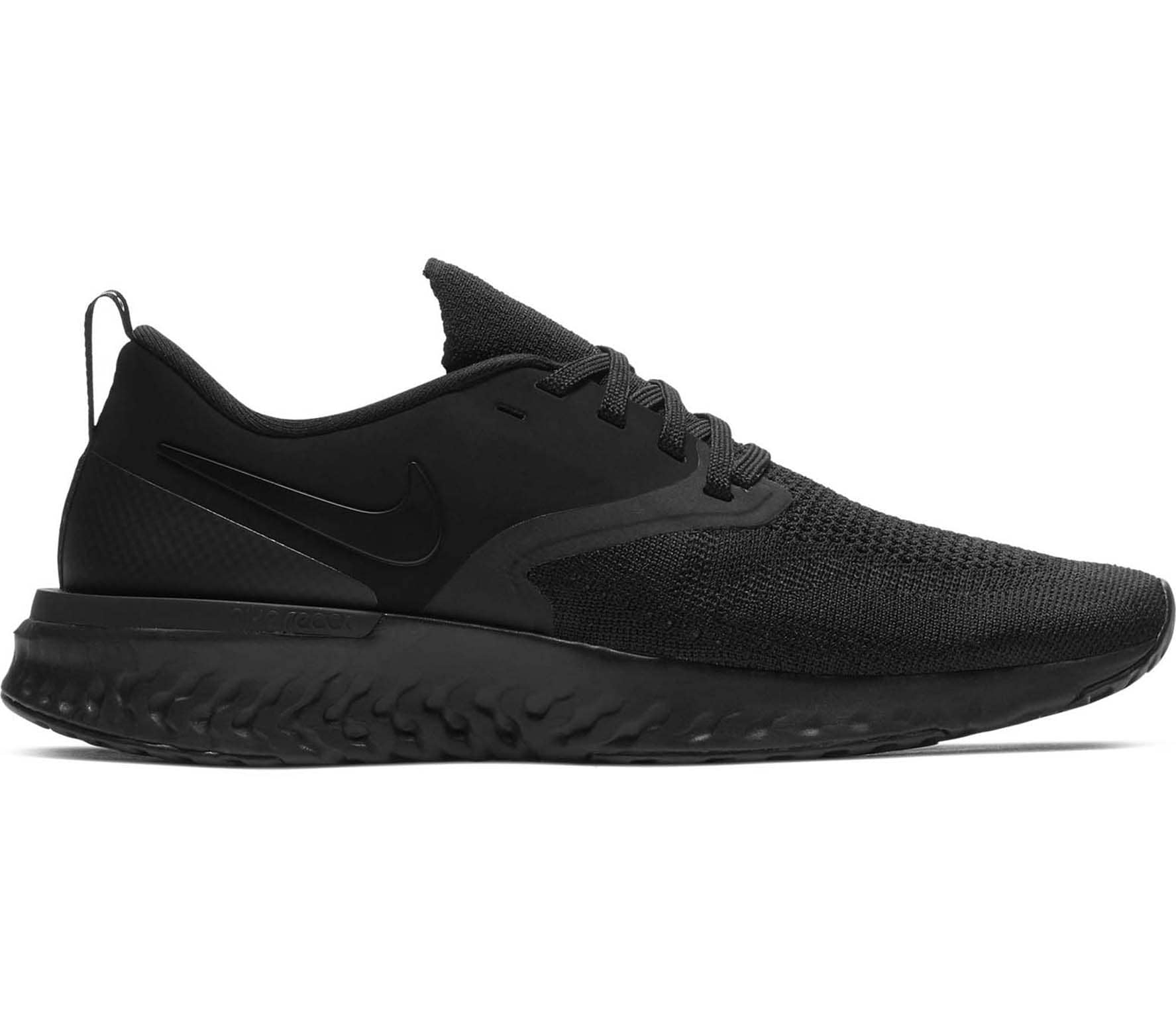 0162a47d29cf Nike - Odyssey React Flyknit 2 women s running shoes (black) - buy ...