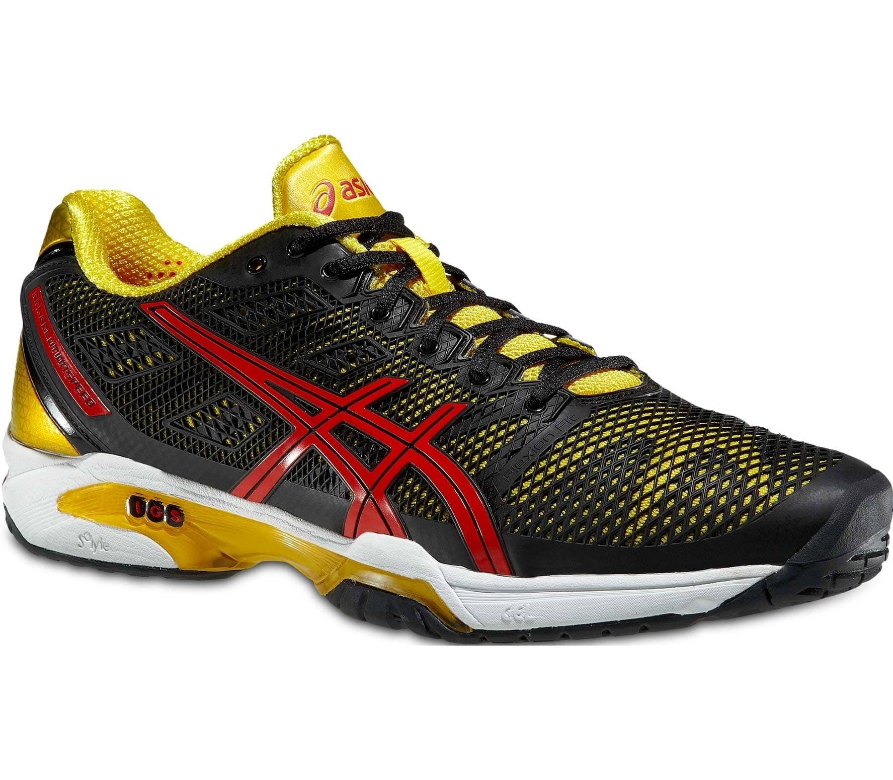 watch 048f4 7e922 Asics - Gel-Solution Speed 2 men s tennis shoes (black yellow)