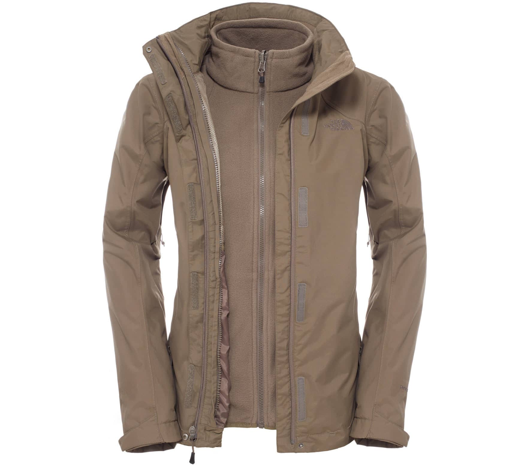 best sneakers 91972 20cda The North Face - Evolution II Triclimate women's double jacket (brown)
