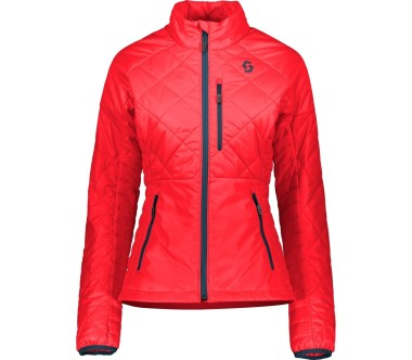 Scott Jacket Insuloft Light Dames rood