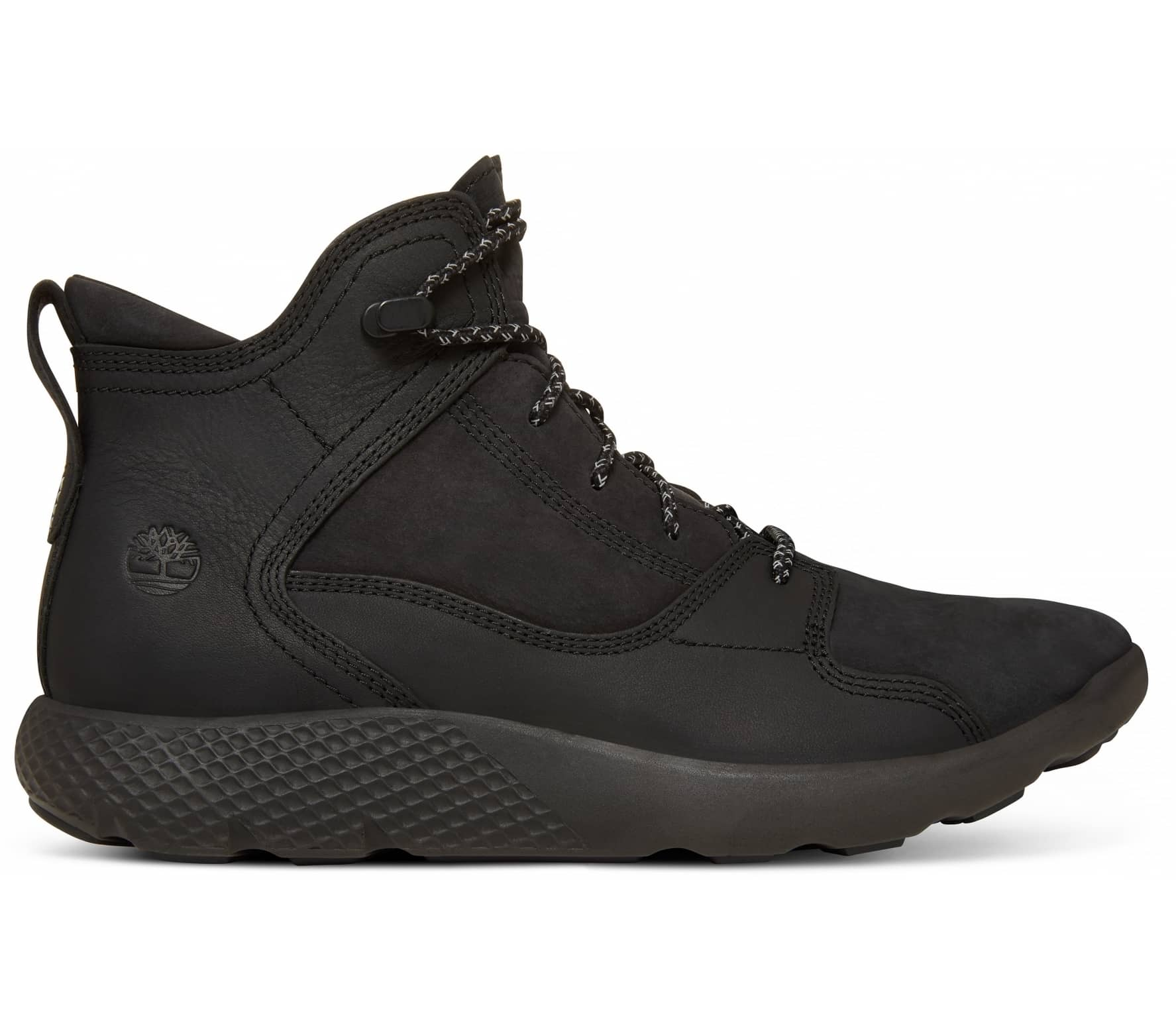 10c73949969a Timberland - FlyRoam Leather Hiker men s mountain lifestyle shoes (black)