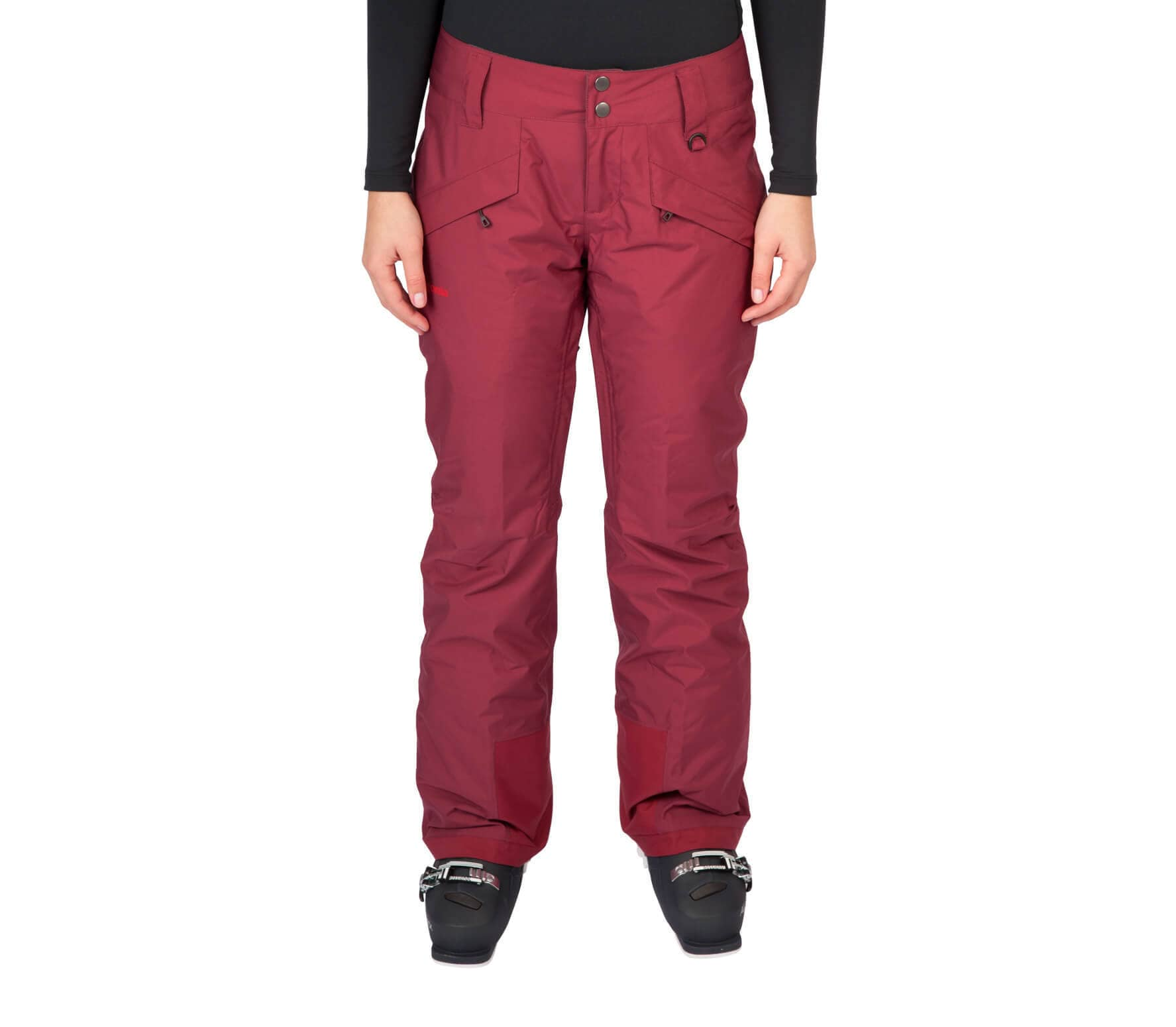 lowest price 16d65 b330e Patagonia - Insulated Snowbelle Donna pantaloni Shell (rosso)