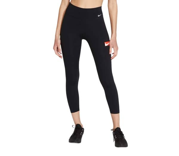 NIKE One Cropped Graphic 7/8 Damen Tights - 1