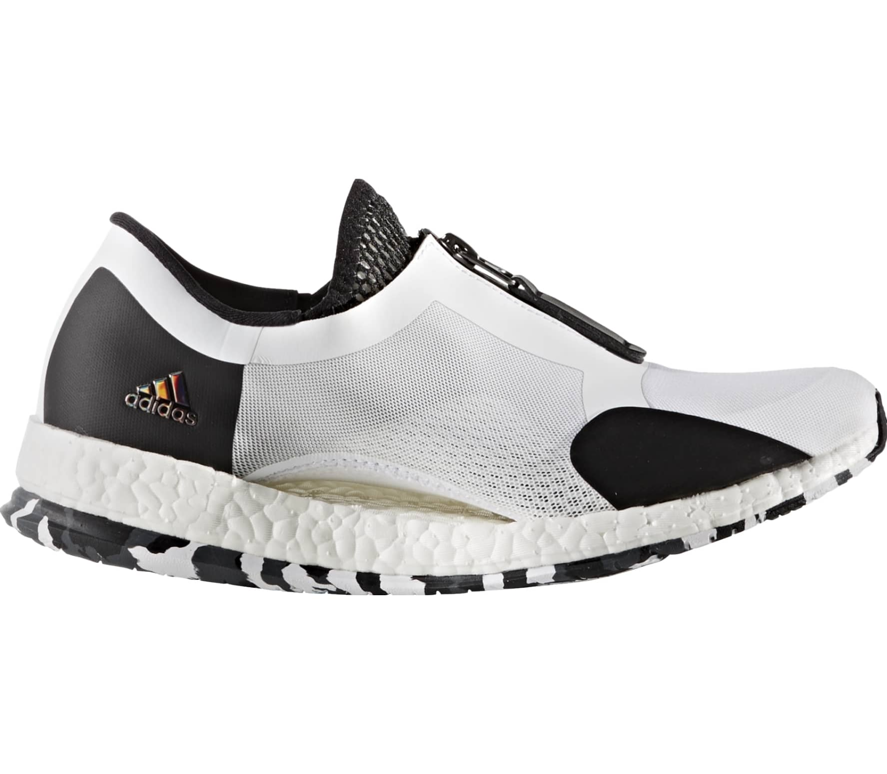 efd66709709ec Adidas - Pure Boost X TR Zip women s training shoes (white black ...