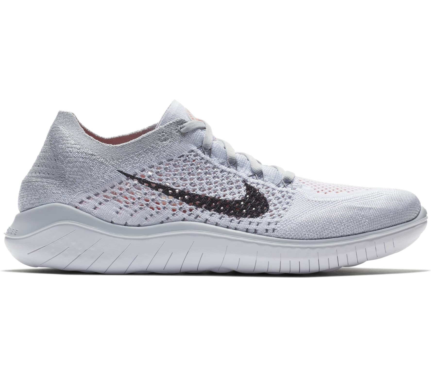 9f1ad763d2a Nike - Free RN Flyknit 2018 men s running shoes (light grey) - buy ...