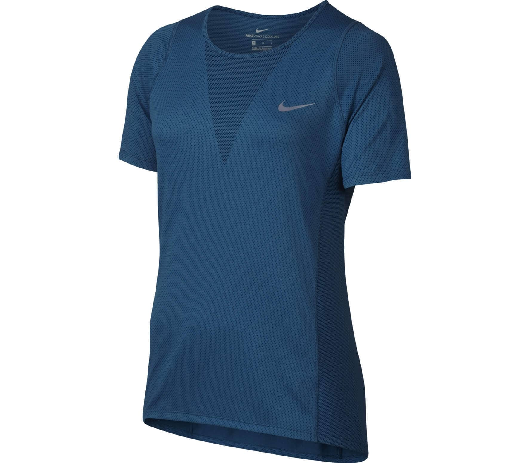 Nike Zonal Cooling Dames Running Top Donkerblauw