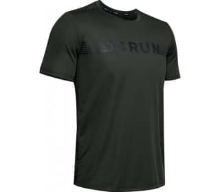 Run Warped Men Running Top