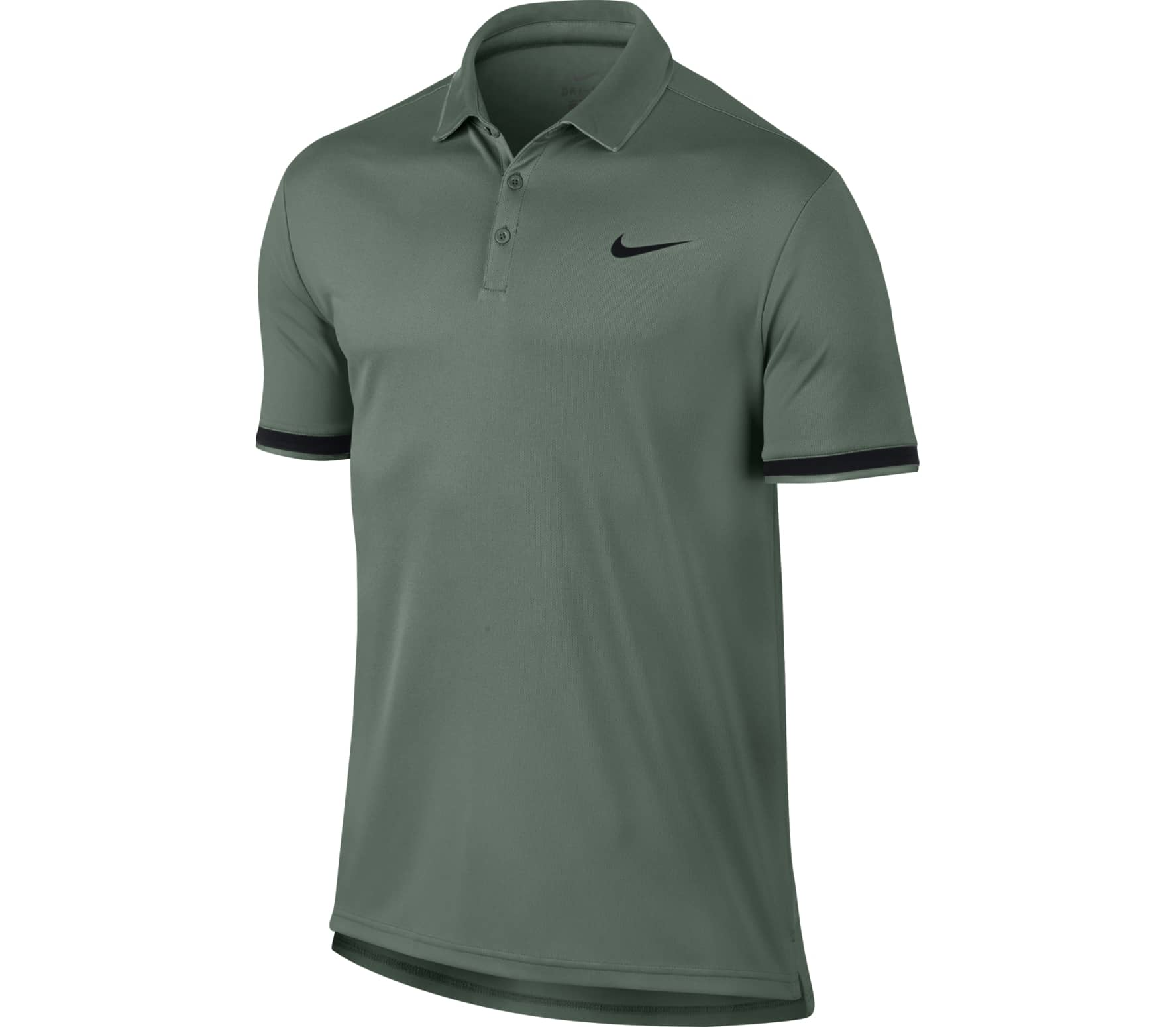bf50b478 Nike - Court Dry men's tennis polo top (dark green) - buy it at the ...