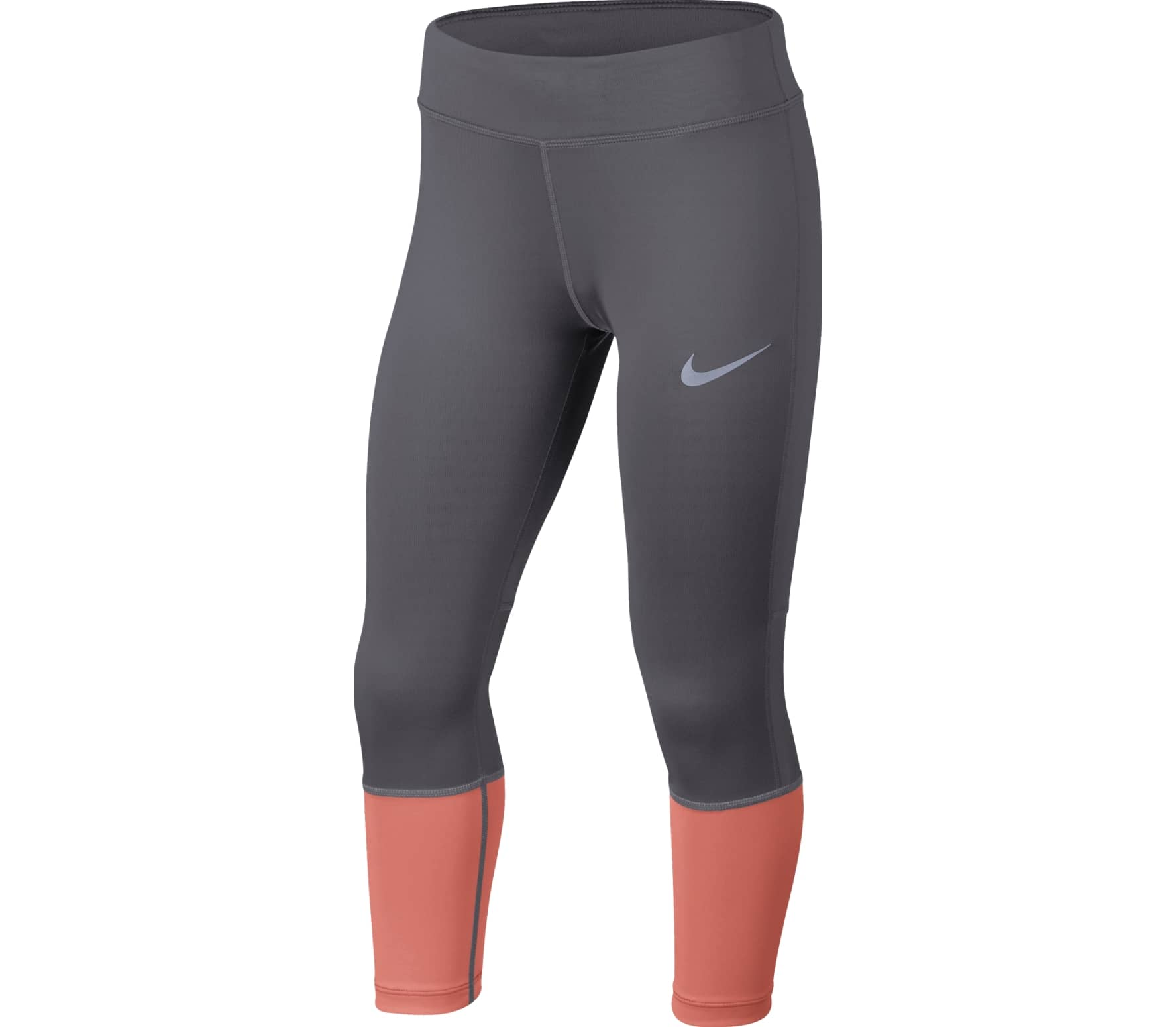 Nike Power Junior Trainingstight Children silver