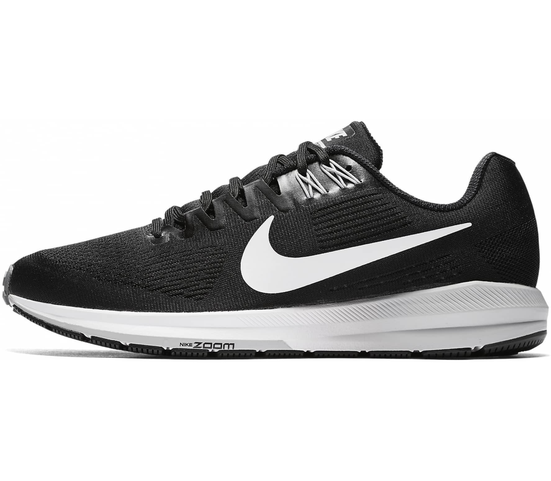 timeless design 7c006 f47ed Nike - Air Zoom Structure 21 men s running shoes (black grey)