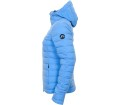 J.Lindeberg - Ease Hooded Liner JL Down women's down jacket (blue)