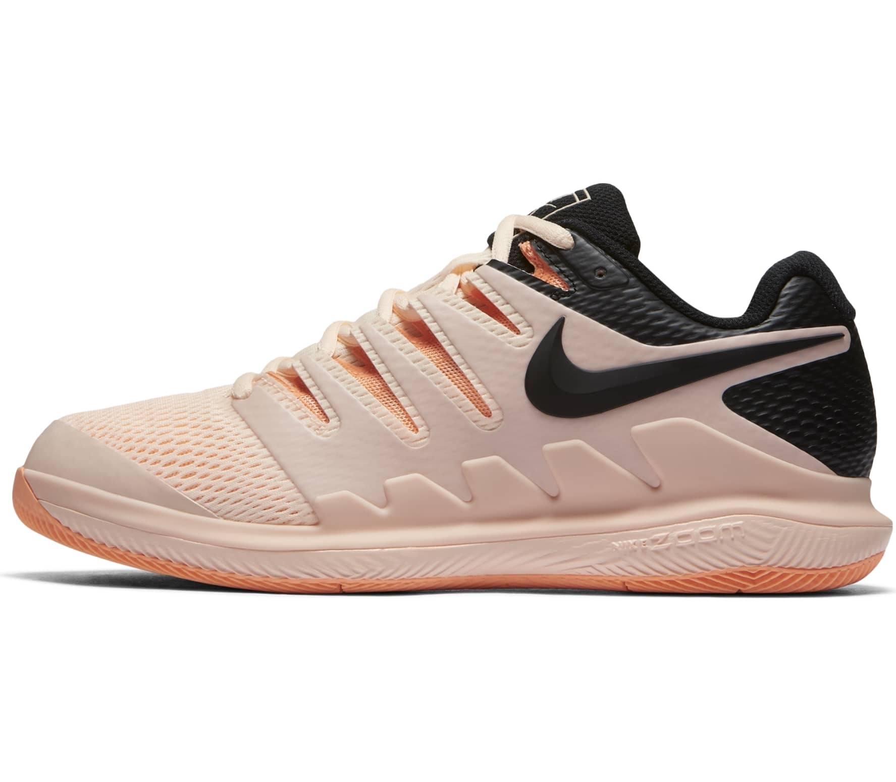 brand new ef9b0 510ec Nike - Air Zoom Vapor X women s tennis shoes (pink black)