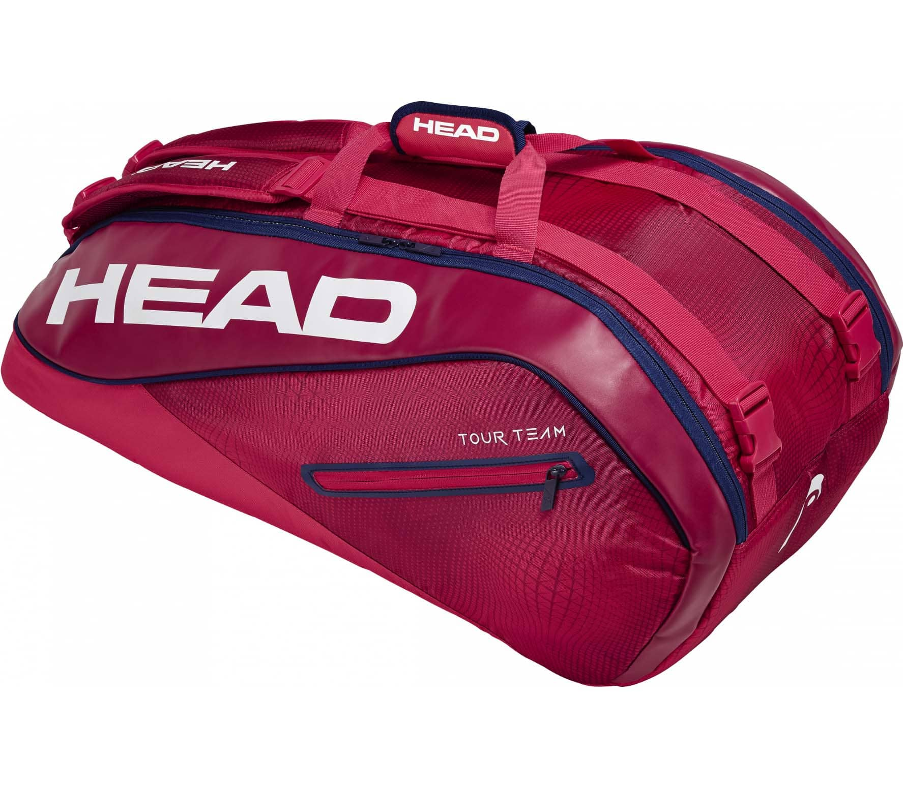 Head Tour Team 9R Supercombi Tennistasche red