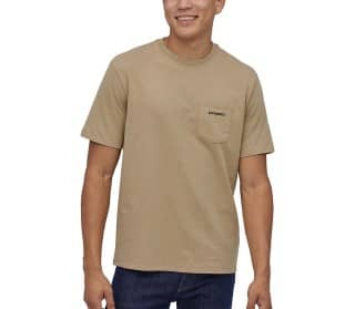Patagonia Line Logo Ridge Pocket Responsibili Men T-Shirt