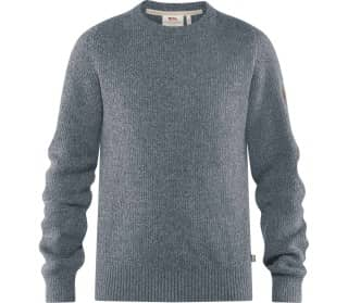 Greenland Re-Wool Crew-Neck Herren Pullover