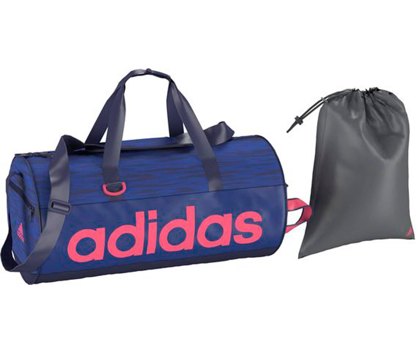 8f9ff8c58d Adidas - Linear Performance Femmes Sac de formation Small (bleu ...