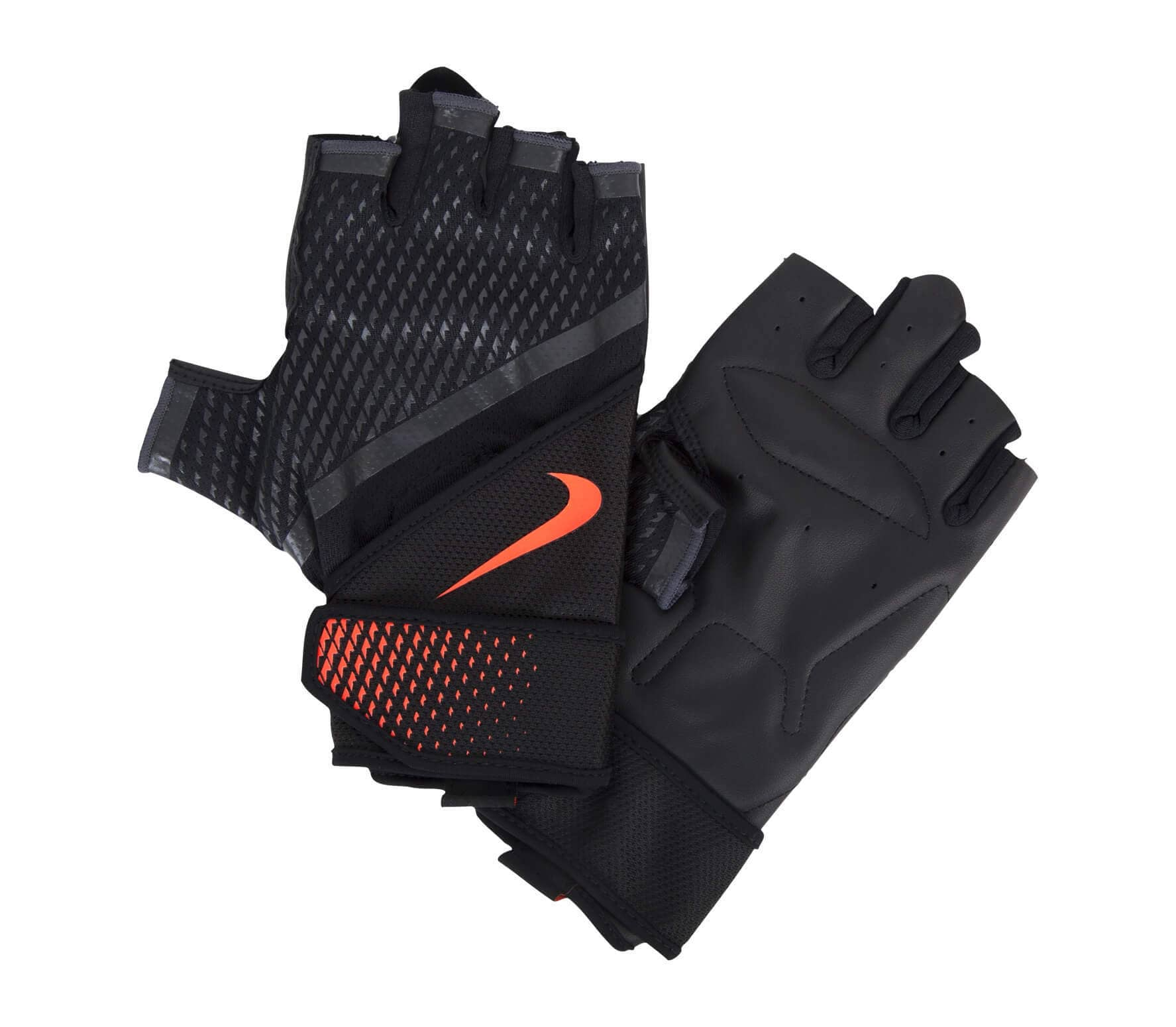Nike Men S Destroyer Training Gloves: Mens Destroyer Training Gloves (black/orange)