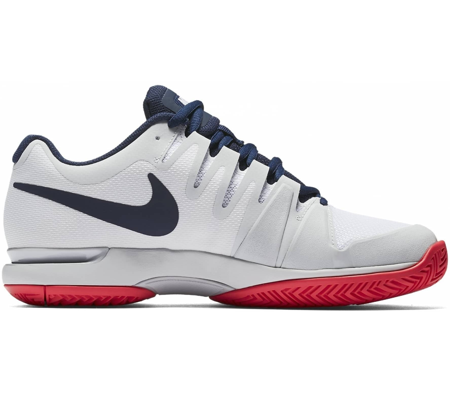 Nike - Air Zoom Vapor 9.5 Tour women s tennis shoes (white dark blue ... 8a6b1b028221
