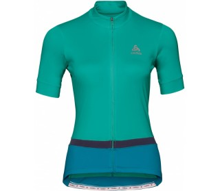 ODLO Stand-Up Collar Full-Zip Fujin Women Cycling Jersey