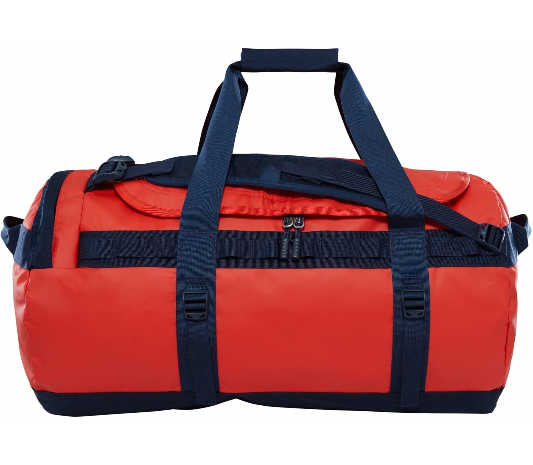 The North Face - Base Camp M duffel bag (orange/dark blue) thumbnail
